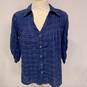 Spence blue top